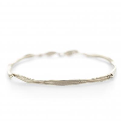 Armband in 18kt wit goud, model MS355