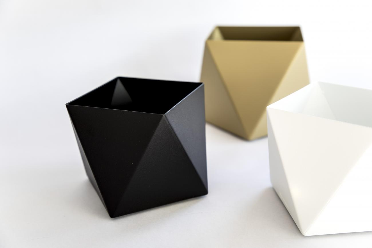 Facet Pot collectie - geometrische plantenpotten by STRAFF Design