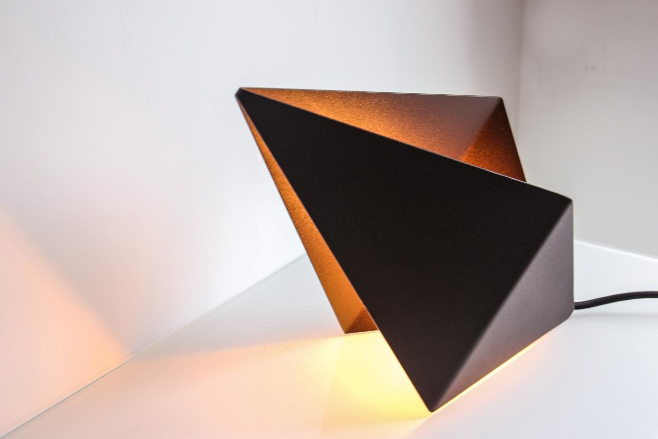 Diamond Lamp - tafellamp chocolate brown by STRAFF Design
