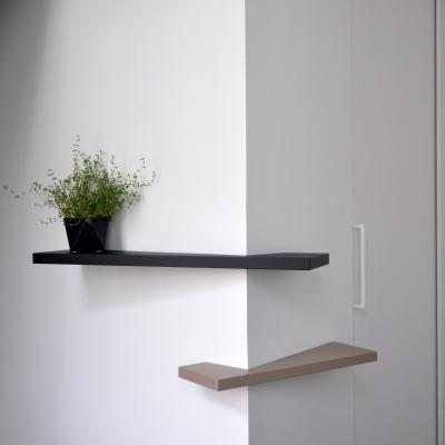 Cornershelf Small & Large - hoekplanken by STRAFF Design